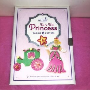 NWOT Princess Cookie Cutters W. Sonoma